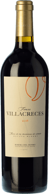 25,95 € Envoi gratuit | Vin rouge Finca Villacreces Crianza D.O. Ribera del Duero Castille et Leon Espagne Tempranillo, Merlot, Cabernet Sauvignon Bouteille 75 cl