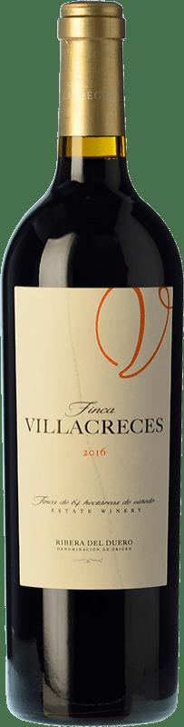 25,95 € 送料無料 | 赤ワイン Finca Villacreces Crianza D.O. Ribera del Duero カスティーリャ・イ・レオン スペイン Tempranillo, Merlot, Cabernet Sauvignon ボトル 75 cl