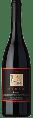 46,95 € Free Shipping | Red wine Fontodi Case Via I.G.T. Colli della Toscana Centrale Tuscany Italy Syrah Bottle 75 cl