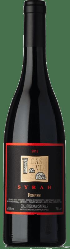 38,95 € Envoi gratuit | Vin rouge Fontodi Case Via I.G.T. Colli della Toscana Centrale Toscane Italie Syrah Bouteille 75 cl