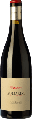 35,95 € Kostenloser Versand | Rotwein Forjas del Salnés Goliardo Crianza D.O. Rías Baixas Galizien Spanien Espadeiro Flasche 75 cl