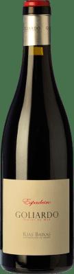 35,95 € Envío gratis | Vino tinto Forjas del Salnés Goliardo Crianza D.O. Rías Baixas Galicia España Espadeiro Botella 75 cl