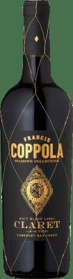 26,95 € Free Shipping | Red wine Francis Ford Coppola Diamond Claret Crianza I.G. California California United States Merlot, Cabernet Sauvignon, Cabernet Franc, Petit Verdot Bottle 75 cl