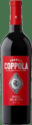 19,95 € Envoi gratuit | Vin rouge Francis Ford Coppola Diamond Red Blend Crianza I.G. California Californie États Unis Merlot, Syrah, Cabernet Sauvignon, Petite Syrah, Zinfandel Bouteille 75 cl
