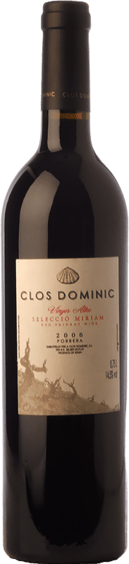 62,95 € Envío gratis | Vino tinto Clos Dominic Vinyes Altes Selecció Míriam Crianza D.O.Ca. Priorat Cataluña España Garnacha, Cariñena Botella 75 cl