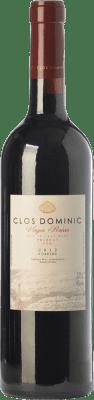 36,95 € Free Shipping | Red wine Clos Dominic Vinyes Baixes Crianza D.O.Ca. Priorat Catalonia Spain Merlot, Grenache, Cabernet Sauvignon, Carignan, Picapoll Black Bottle 75 cl