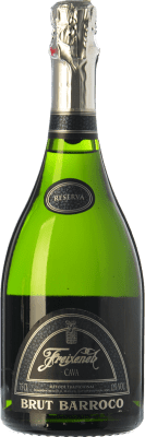11,95 € Free Shipping | White sparkling Freixenet Barroco Brut Reserva D.O. Cava Catalonia Spain Macabeo, Xarel·lo, Parellada Bottle 75 cl | Thousands of wine lovers trust us to get the best price guarantee, free shipping always and hassle-free shopping and returns.