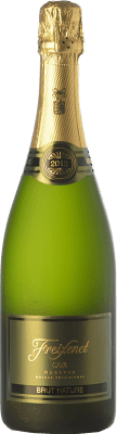 8,95 € Free Shipping | White sparkling Freixenet Brut Nature Reserva D.O. Cava Catalonia Spain Macabeo, Xarel·lo, Parellada Bottle 75 cl | Thousands of wine lovers trust us to get the best price guarantee, free shipping always and hassle-free shopping and returns.
