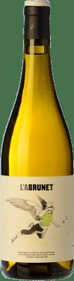 8,95 € Kostenloser Versand | Weißwein Frisach L'Abrunet Blanc D.O. Terra Alta Katalonien Spanien Grenache Weiß Flasche 75 cl