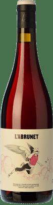 8,95 € Free Shipping | Red wine Frisach L'Abrunet Negre Joven D.O. Terra Alta Catalonia Spain Grenache, Carignan Bottle 75 cl