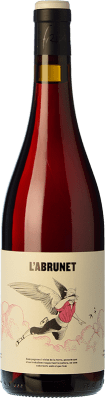 8,95 € Kostenloser Versand | Rotwein Frisach L'Abrunet Negre Joven D.O. Terra Alta Katalonien Spanien Grenache, Carignan Flasche 75 cl