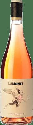 9,95 € Kostenloser Versand | Rosé-Wein Frisach L'Abrunet Rosat D.O. Terra Alta Katalonien Spanien Grenache, Grenache Weiß, Grenache Grau Flasche 75 cl