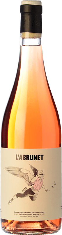 9,95 € Free Shipping | Rosé wine Frisach L'Abrunet Rosat D.O. Terra Alta Catalonia Spain Grenache, Grenache White, Grenache Grey Bottle 75 cl