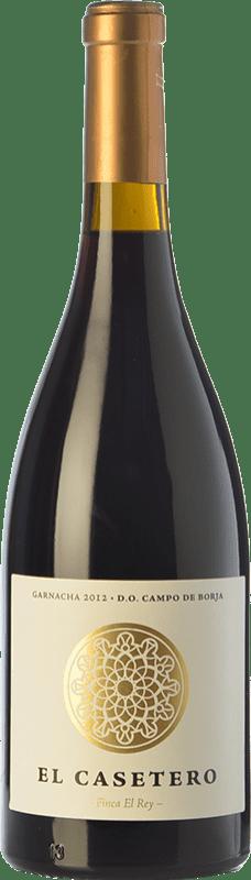 12,95 € Free Shipping | Red wine Frontonio El Casetero Finca el Rey Crianza D.O. Campo de Borja Aragon Spain Grenache Bottle 75 cl