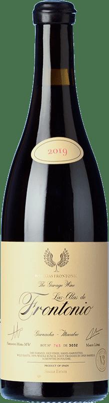 43,95 € Free Shipping | Red wine Frontonio Las Alas Joven I.G.P. Vino de la Tierra de Valdejalón Aragon Spain Grenache Bottle 75 cl