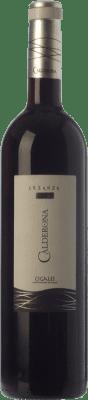 8,95 € Envío gratis | Vino tinto Frutos Villar Calderona Crianza D.O. Cigales Castilla y León España Tempranillo Botella 75 cl