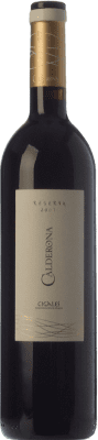 12,95 € Envoi gratuit | Vin rouge Frutos Villar Calderona Reserva D.O. Cigales Castille et Leon Espagne Tempranillo Bouteille 75 cl