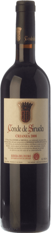 14,95 € Envoi gratuit   Vin rouge Frutos Villar Conde Siruela Crianza D.O. Ribera del Duero Castille et Leon Espagne Tempranillo Bouteille 75 cl
