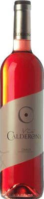 5,95 € Kostenloser Versand | Rosé-Wein Frutos Villar Viña Calderona Joven D.O. Cigales Kastilien und León Spanien Tempranillo, Grenache, Albillo, Verdejo Flasche 75 cl