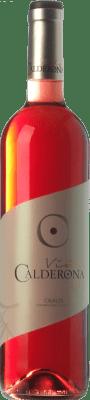 5,95 € Envoi gratuit | Vin rose Frutos Villar Viña Calderona Joven D.O. Cigales Castille et Leon Espagne Tempranillo, Grenache, Albillo, Verdejo Bouteille 75 cl