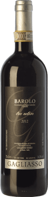 31,95 € Free Shipping   Red wine Gagliasso Tre Utin D.O.C.G. Barolo Piemonte Italy Nebbiolo Bottle 75 cl