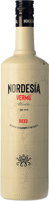 14,95 € Free Shipping | Vermouth Galician Original Vermú Rojo Nordesía Galicia Spain Missile Bottle 1 L