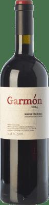 32,95 € Free Shipping | Red wine Garmón Crianza D.O. Ribera del Duero Castilla y León Spain Tempranillo Bottle 75 cl