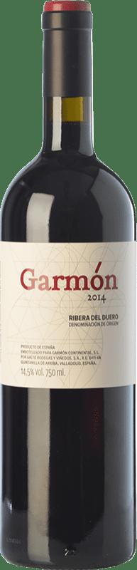 34,95 € Envoi gratuit | Vin rouge Garmón Crianza D.O. Ribera del Duero Castille et Leon Espagne Tempranillo Bouteille 75 cl