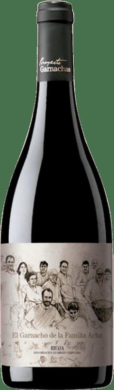 97,95 € Free Shipping | Red wine Garnachas de España El Garnacho Viejo de la Familia Acha Crianza 2009 D.O.Ca. Rioja The Rioja Spain Grenache Bottle 75 cl