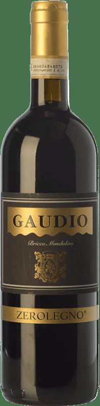 13,95 € Envío gratis | Vino tinto Gaudio Barbera d'Asti Zerolegno D.O.C. Monferrato Piemonte Italia Barbera Botella 75 cl
