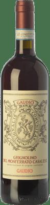 8,95 € Envío gratis | Vino tinto Gaudio D.O.C. Grignolino del Monferrato Casalese Piemonte Italia Grignolino Botella 75 cl