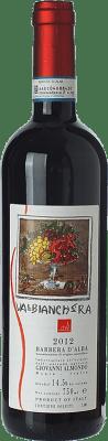 17,95 € Free Shipping | Red wine Giovanni Almondo Valbianchera D.O.C. Barbera d'Alba Piemonte Italy Barbera Bottle 75 cl