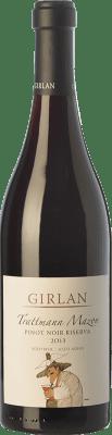 35,95 € Envío gratis | Vino tinto Girlan Pinot Nero Riserva Trattmann Mazon Reserva D.O.C. Alto Adige Trentino-Alto Adige Italia Pinot Negro Botella 75 cl