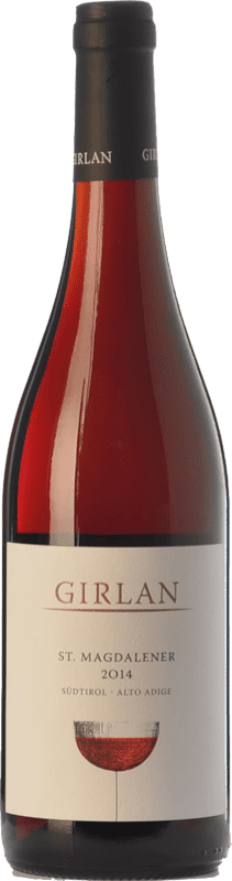 8,95 € Free Shipping | Red wine Girlan St. Magdalener D.O.C. Alto Adige Trentino-Alto Adige Italy Lagrein, Schiava Gentile Bottle 75 cl