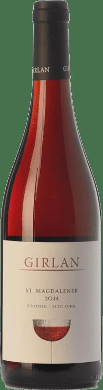 8,95 € Envío gratis | Vino tinto Girlan St. Magdalener D.O.C. Alto Adige Trentino-Alto Adige Italia Lagrein, Schiava Gentile Botella 75 cl