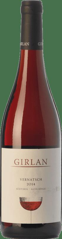 8,95 € Free Shipping | Red wine Girlan Vernatsch D.O.C. Alto Adige Trentino-Alto Adige Italy Schiava Gentile Bottle 75 cl