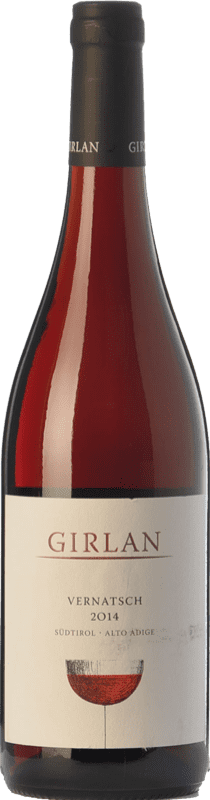 8,95 € Envío gratis | Vino tinto Girlan Vernatsch D.O.C. Alto Adige Trentino-Alto Adige Italia Schiava Gentile Botella 75 cl