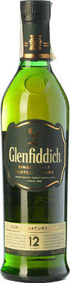 27,95 € Envío gratis | Whisky Single Malt Glenfiddich 12 Speyside Reino Unido Botella 70 cl