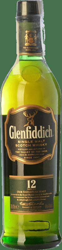 39,95 € Free Shipping | Whisky Single Malt Glenfiddich 12 Nomad Edition Speyside United Kingdom Bottle 70 cl