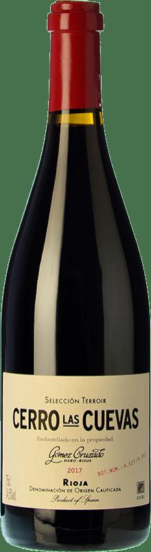 45,95 € Envío gratis | Vino tinto Gómez Cruzado Cerro Las Cuevas Crianza D.O.Ca. Rioja La Rioja España Tempranillo, Graciano Botella 75 cl
