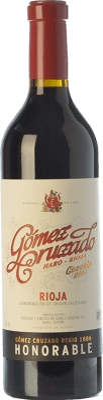 29,95 € Free Shipping | Red wine Gómez Cruzado Honorable Reserva D.O.Ca. Rioja The Rioja Spain Tempranillo, Grenache, Graciano, Mazuelo, Viura Bottle 75 cl
