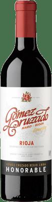 29,95 € Kostenloser Versand | Rotwein Gómez Cruzado Honorable Reserva D.O.Ca. Rioja La Rioja Spanien Tempranillo, Grenache, Graciano, Mazuelo, Viura Flasche 75 cl