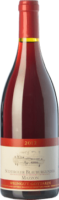 34,95 € Free Shipping | Red wine Gottardi Blauburgunder Mazzon D.O.C. Alto Adige Trentino-Alto Adige Italy Pinot Black Bottle 75 cl