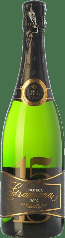 153,95 € 免费送货 | 白起泡酒 Gramona Enoteca Brut Nature Gran Reserva 2002 D.O. Cava 加泰罗尼亚 西班牙 Macabeo, Xarel·lo 瓶子 75 cl