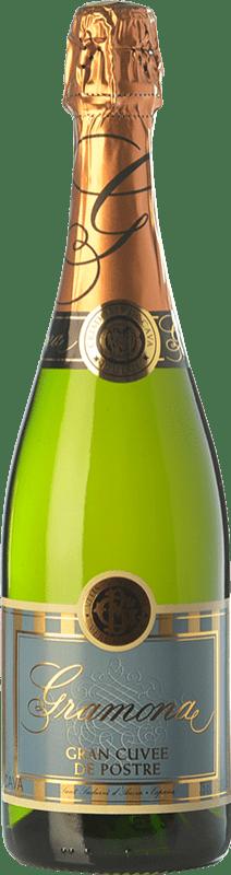 13,95 € 免费送货 | 白起泡酒 Gramona Gran Cuvée de Postre D.O. Cava 加泰罗尼亚 西班牙 Macabeo, Xarel·lo, Parellada 瓶子 75 cl