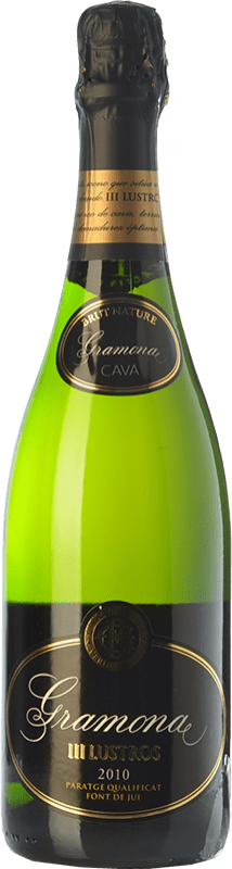 32,95 € Envoi gratuit | Blanc moussant Gramona III Lustros Gran Reserva D.O. Cava Catalogne Espagne Macabeo, Xarel·lo Bouteille 75 cl