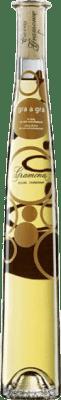 28,95 € Envio grátis | Vinho doce Gramona Gra a Gra D.O. Penedès Catalunha Espanha Chardonnay, Sauvignon Branca Meia Garrafa 37 cl