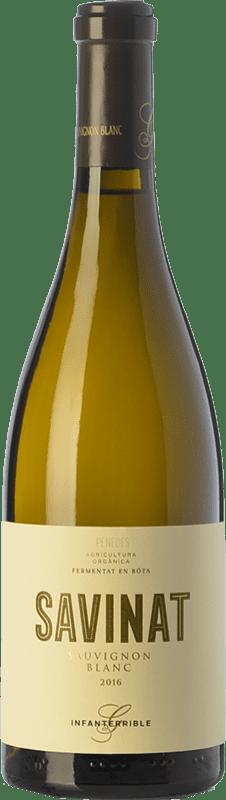 19,95 € 免费送货 | 白酒 Gramona Savinat Ecològic Crianza D.O. Penedès 加泰罗尼亚 西班牙 Sauvignon White 瓶子 75 cl