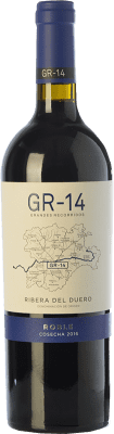 13,95 € Free Shipping | Red wine Gran del Siurana GR-14 Roble D.O. Ribera del Duero Castilla y León Spain Tempranillo Bottle 75 cl