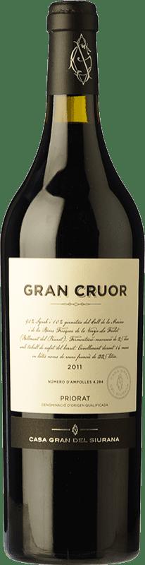 49,95 € Free Shipping | Red wine Gran del Siurana Gran Cruor Crianza 2010 D.O.Ca. Priorat Catalonia Spain Syrah, Carignan Bottle 75 cl